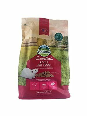 Oxbow Essentials Adult Rat Food 3-Pound Bag