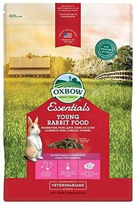 Oxbow Essentials Bunny Basics - Young Rabbit Food - Alfalfa Hay - 10 lbs