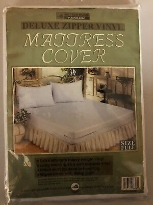 Full Size Zippered Mattress Cover Waterproof, Bed Bug, Dust & Mite Protector