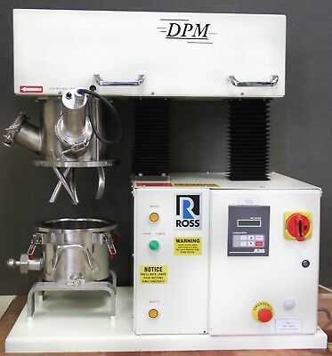 Charles Ross DPM-1 Vacuum Double Planetary Mixer 1 Gallon MC1000, HV Blade (4761