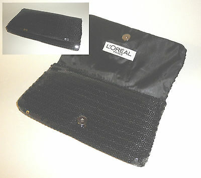 EXCLUSIVE L´OREAL CLUTCH Pailletten Abendtasche Party ABI Ball OPER Theater edel