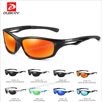DUBERY Men Sport Polarized Sunglasses Outdoor Driving Fishing Riding Goggles Hot