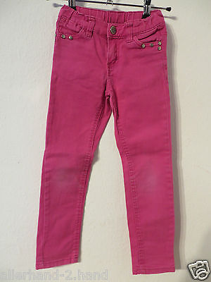 X-MAIL # coole JEANS Gr. 116 pink Stretch Mädchen Kleidung Hose Stretchjeans TOP