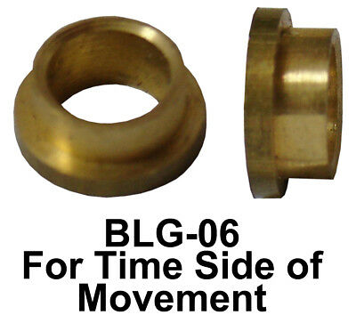 New Winding Arbor and/or Pivot Bushings For American & Other Clocks - 3 Choices!