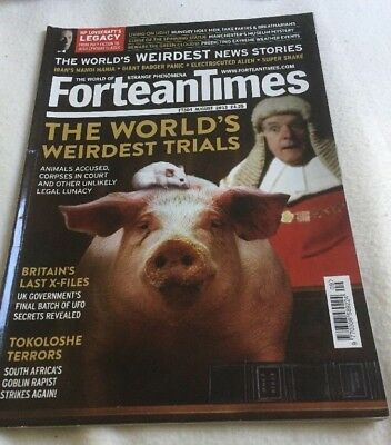 Fortean Times FT304  August 2013 The World's Weirdest Trials, Tokoloshe Terrors