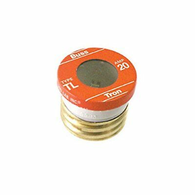 Bussman TL-20PK4 20 Amp Time Delay Plug Fuses 4 Count
