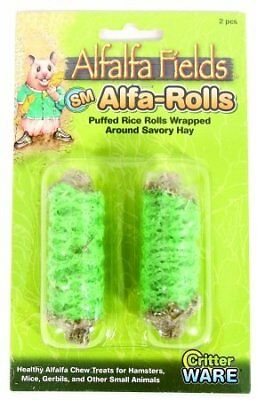 Ware Alfalfa Fields Alfa-Rolls Small Animal Chew Small Green 13019