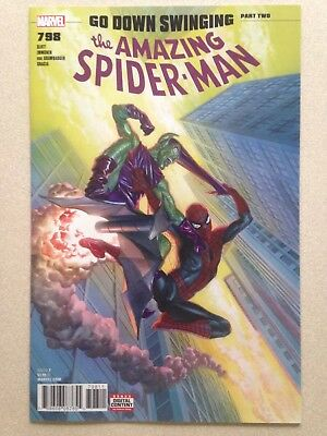 AMAZING SPIDER-MAN #798 NM (9.4) Alex Ross 1st APP RED GOBLIN - Hot Key L@@k!
