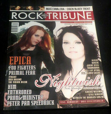 ROCK TRIBUNE with CD, Epica, Foo Fighters, Primal Fear, Nightwish, Enthroned