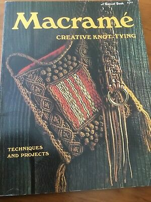Macrame Creative Knot-tying Book 80 Pages