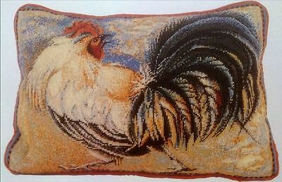 Ehrman Designer ELIAN MCCREADY Tapestry Needlepoint PAPER Chart ROOSTER cushion