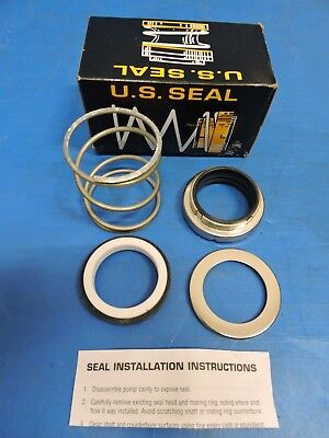 "U.S. Seal Manufacturing PS-834 Pump & Shaft Seal Kit Shaft Size 2.375"" / in BOX"