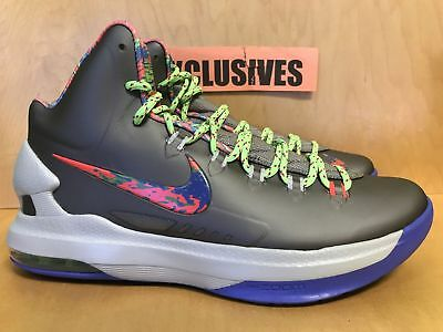 the best attitude 2a4d1 a943d Nike KD V 5 Splatter Kevin Durant 554988-007 Size 10.5 and 11
