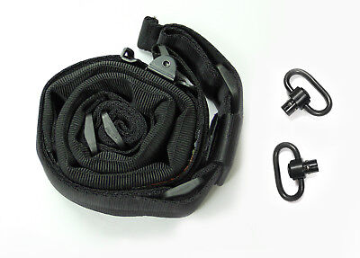 AlienTACS Padded Quick Adjust 2point Rifle Tactical Sling w/ 2 push-on QD swivel