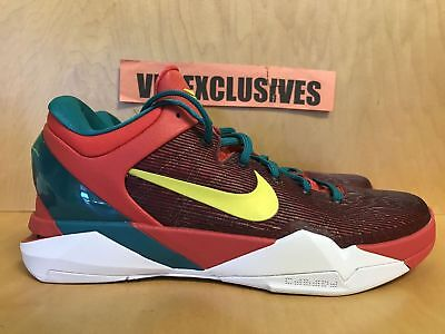 brand new 9197c 6a942 Nike Zoom Kobe VII 7 Year of The Dragon YOTD 2012 Action Red/Lime-