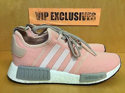 774a67504821c Adidas NMD R1 W Vapour Pink Light Onix Grey Women s Nomad Runner BY3059  LIMITED