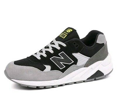 ea6b4064ce80 New Balance MRT580LF D Black & Grey & White 580 Reenginered Retro Lifestyle  NB