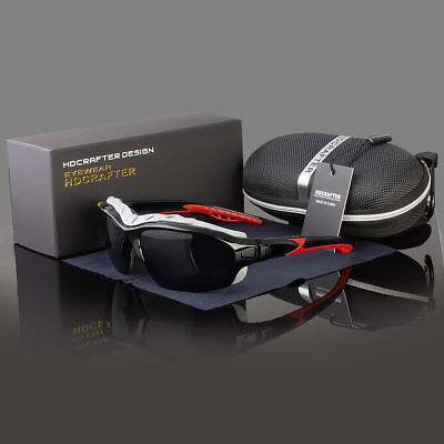 NEW Wind Resistant POLARIZED Sunglasses Extreme Sports Motorcycle Riding Glasses