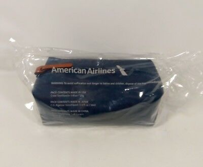 American Airlines / Cole Haan Travel Essentials Amenity Kit / Toiletry Kit NEW