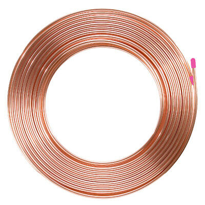 "Hvar+R Soft Drawn 5/8"" 15.8Mm 0.81Mm Roll 18M Pancake Copper Tube R410A R22"