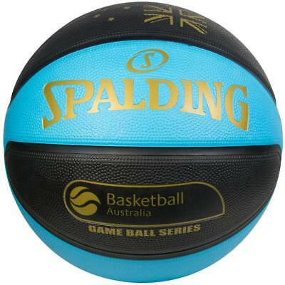TF-Flex Size 7 Outdoor Basketball Australia in Blue/Black from Spalding
