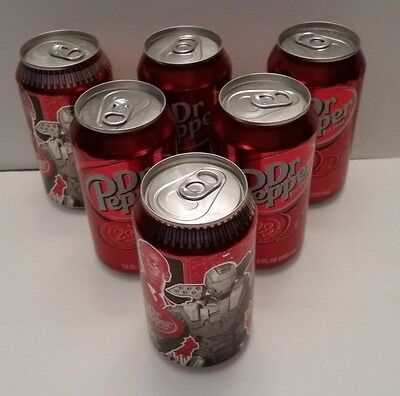 6 Dr Pepper Diversion Safe, Can Safe, Money Or Jewelry Stash Can