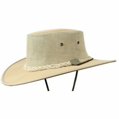 Barmah 1057be Canvas Drover - Beige