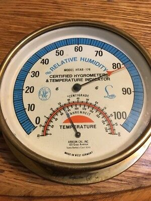 Abbeon Cal Inc Lufft Certified Relative Humidity Hygrometer Htab-176 Thermometer