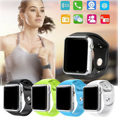 A1 Smart Wrist Watch Bluetooth GSM Phone For Android Samsung iPhone IOS Phone