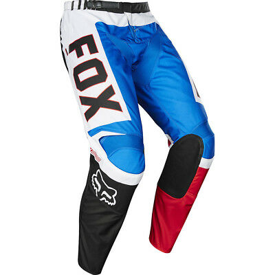 NEW Fox Racing 2017 Kids Mx LE 180 Fiend Blue White Red Youth Motocross Pants