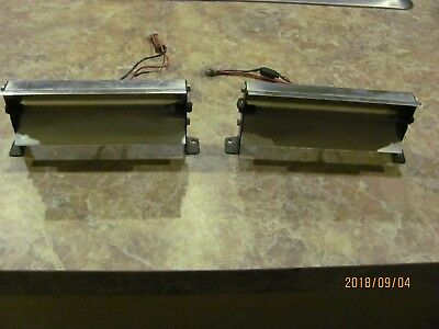 Code 3 Model 360  Lightbar Center Front & Back Strobes, With Mounts & Screws