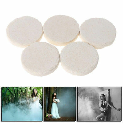 10 pcs White Smoke Cake Effect Show Round Bomb Stage Photography Aid Toy Gifts