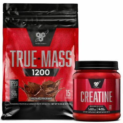 Bsn True Mass 1200 4.6Kg // Weight Gainer Serious Bulking Protein Truemass