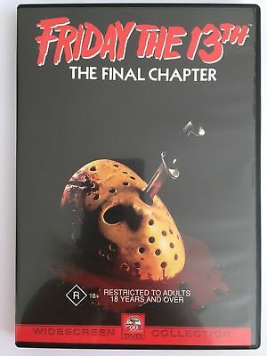 Friday The 13th - The Final Chapter : Part 4 - 1984 (DVD) WIDESCREEN - REGION 4