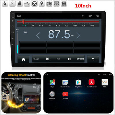 10INCH CAR STEREO ANDROID 7.1 Wifi DVD LTE BT DAB ULTRA THIN TOUCH SCREEN