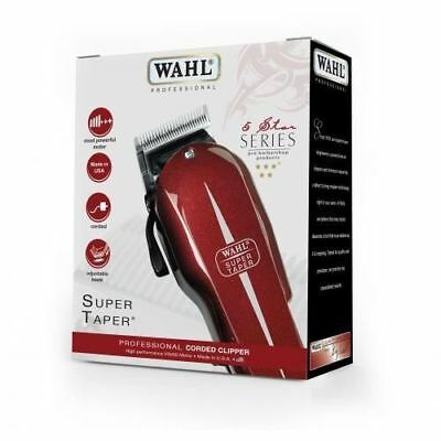 WAHL PROFESSIONAL Coreded Clipper 5 STAR Super Taper Hair Trimmer