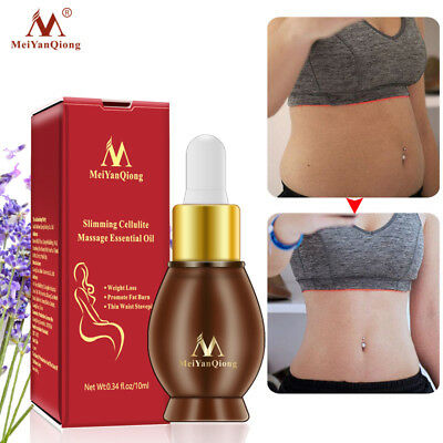 Body Shaping Firming Essential Oil Fat Burning Weight Loss Leg Waist Massage Oil