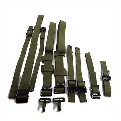 Ford Gpw, Willys Mb, Safety Strap And Webbing Set 9 Pieces Jz99