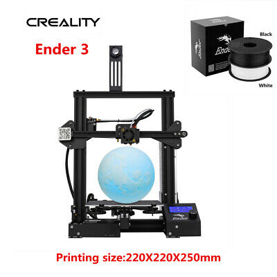 Creality Ender 3 3D Printer Removable Hot Bed Build Plate 220X220X250mm DC 24V