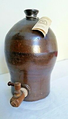Bendigo Pottery Large Wine Flagon Made in Australia