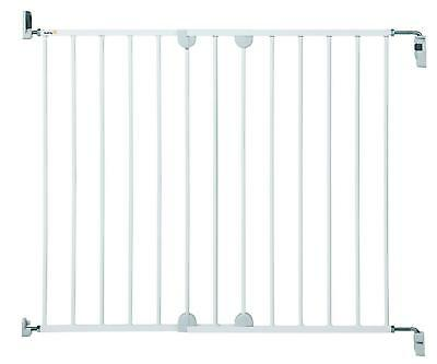 Extra Wide 62-102Cm Safety Gate For Kids Baby Dog   Adjustable Stair Door Fence