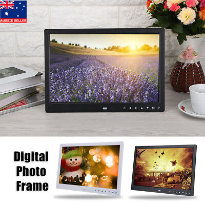 13/15'' HD 1080P LED Digital Photo Picture Frame Movie Player Remote Control Hot