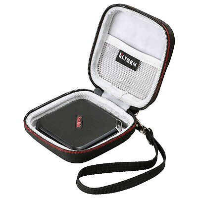 LTGEM EVA Case For SanDisk Extreme 500/510 Portable SSD External Hard Drive Bag