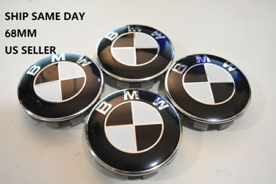 4Pcs FIT FOR BMW Wheel Center Caps Hub Hubcap Rim Emblem Logo Badge 68MM