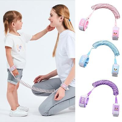 Child Kid Anti-lost Safety Leash Wrist Link Reins Reflective Rope Harness Strap