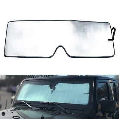 for Jeep Wrangler JK 2007-2017 Accessories Front Windshield Sunshade Sun Shade
