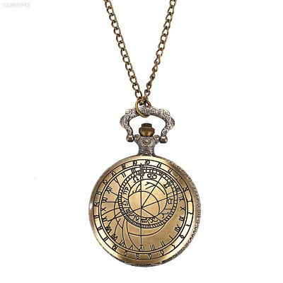 6991 Mapping Compass Pocket Watch Sweater Chain Hanging Chain Retro