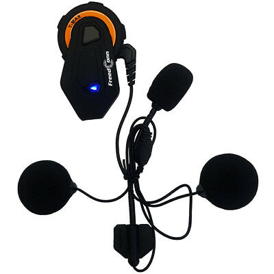 FREEDCONN T-Max 6 riders BT v4.1 Motorcycle Helmet Intercom Stereo Headset 1000M