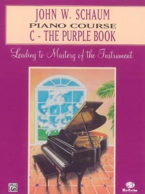 John W. Schaum: Piano Course C - The Purple Book EL00168A