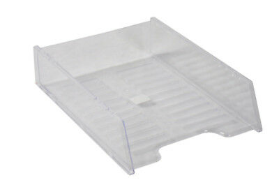 Document Tray Italplast A4 Multifit Clear ( Each )